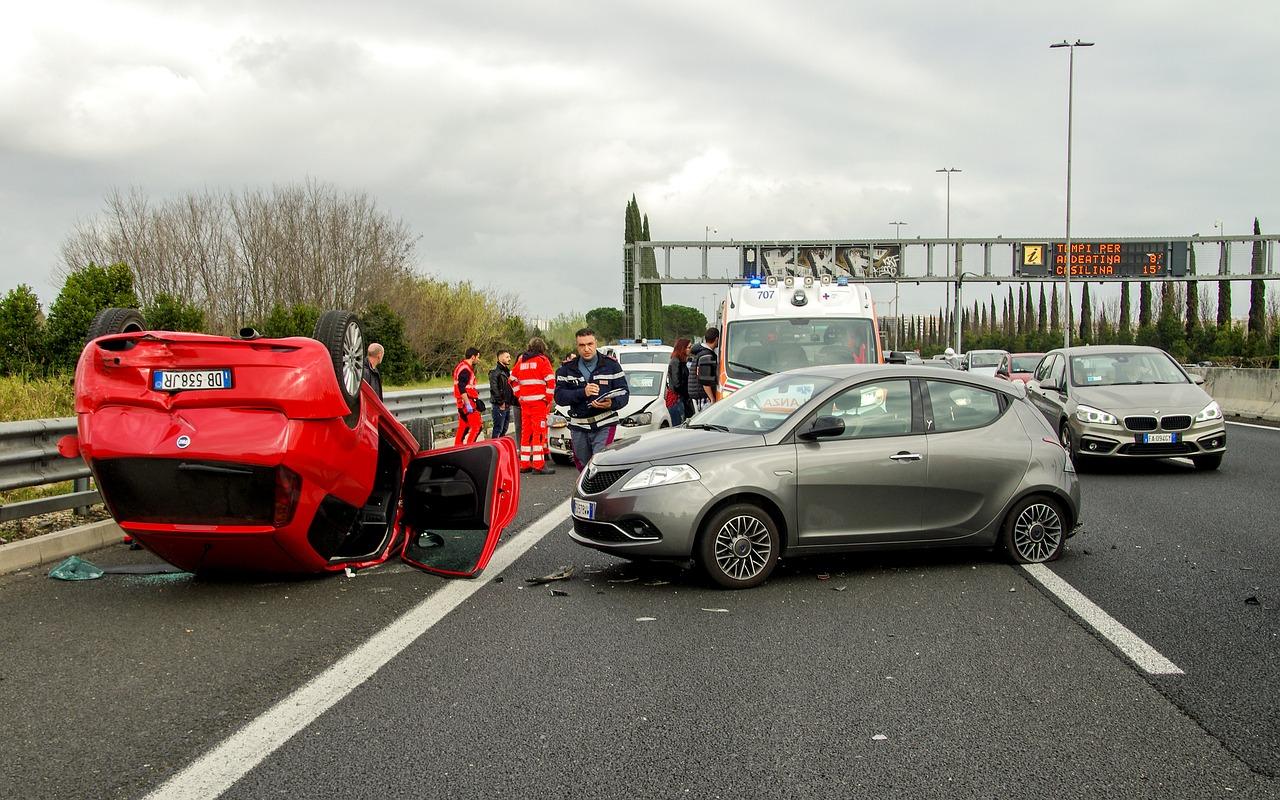 פגיעה בתאונה